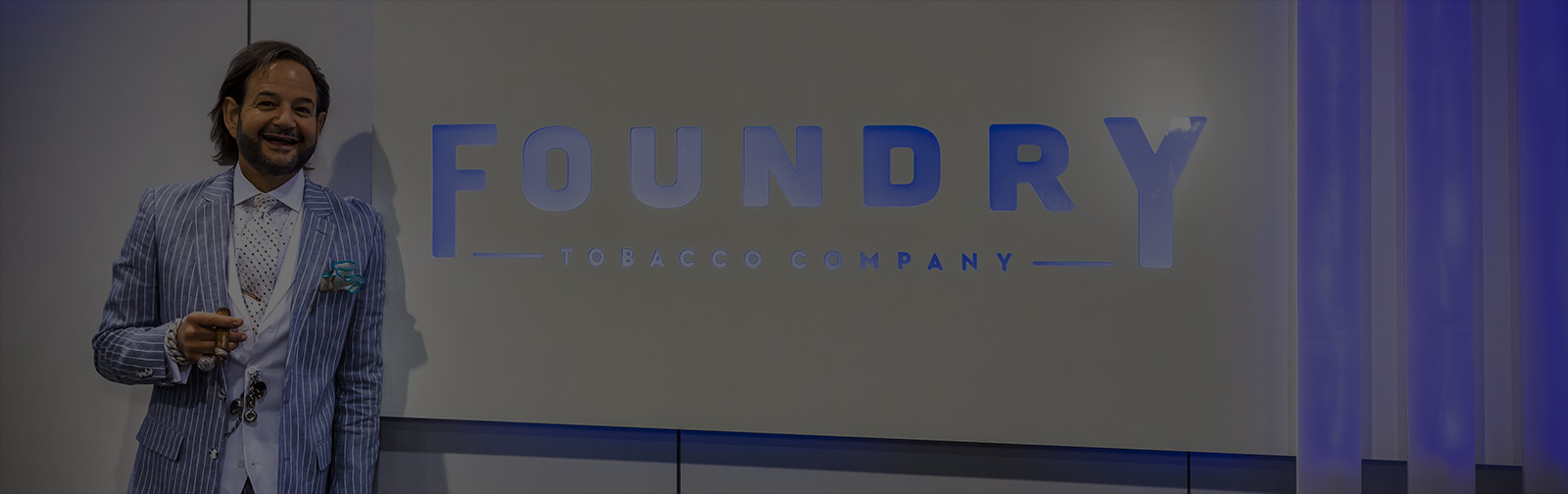 Custom Branded Environment Feature Area for Foundry Tobacco Company